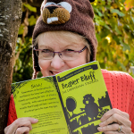 Judy Millar beaver bluff book and beaver hat