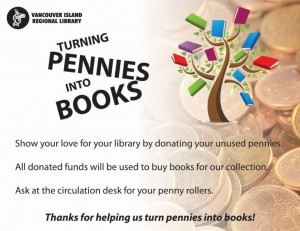 Turn Pennies into books PowerPoint