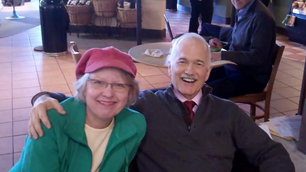 Jack Layton & Judy Millar