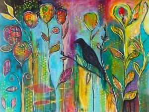 "Patt Scrivener's ""Bird in Paradise"""