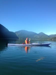 Judy kayaking_Moutcha Bay #2