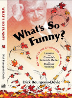 What's So Funny book cover_Dick Bourgeois-Doyle